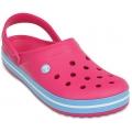 Crocs Crocband CandPink/ Bluebell női Crocs Papucs