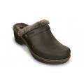 Crocs Cobbler Lined Clog /espresso-walnut női papucs