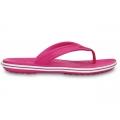 Crocs Crocband Lopro Flip/pink/wht női saru