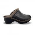 Crocs Cobbler Lined Clog /blk-walnut női papucs