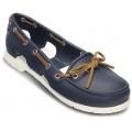 Crocs Beach Line Boat Shoe W's Navy / White női cipő