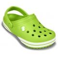 Crocs crocband x-clog kids /volt green  gyerek papucs