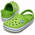 Crocs Crocband kids volt green/blu zöld gyerek papucs