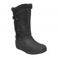 Crocs Modessa Suede Button Boot /blk női csizma